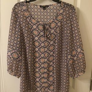 Zac and Rachel Boho style blouse